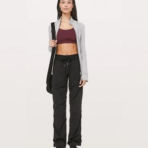 Lululemon Studio Pants Joggers Lined Size 8